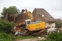 В Плеханово продолжается снос незаконных цыганских построек, Фото: 45