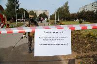 В Туле проходит масштабная дезинфекция общественных пространств, автобусов и маршруток, Фото: 7