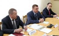 Врио губернатора Тульской области Алексей Дюмин посетил Алексинский химкомбинат, Фото: 4