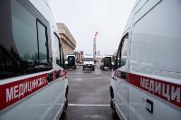 Алексей Дюмин передал региональному Центру медицины катастроф 39 новых автомобилей, Фото: 3