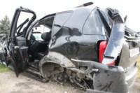 Возле поста ДПС в Плавске столкнулись три иномарки и фура, Фото: 8