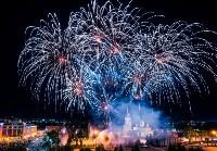 Салют и пиротехническое шоу на День Победы-2016, Фото: 14