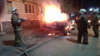 "Пожар в Заречье - ""Тойота Лэнд Крузер"". 18.03.2015, Фото: 1"
