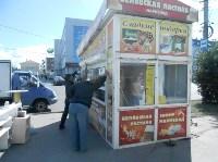 Снос двух торговых павильонов на Фрунзе, Фото: 3