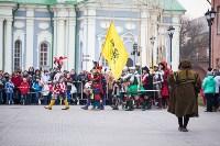 Средневековые маневры в Тульском кремле. 24 октября 2015, Фото: 14