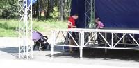 Андрианов на ледовой арене и в Пролетарском парке. 8.08.2015, Фото: 4