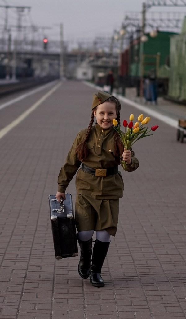 """Эвелина, 7 лет """"Наследники Победы"""""""