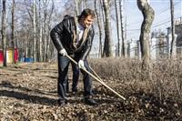 Субботник в Комсомольском парке с Владимиром Груздевым, 11.04.2014, Фото: 41