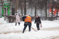 Последствия снежного циклона в Туле, Фото: 8