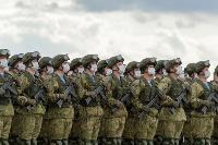 В Туле прошла первая репетиция парада Победы: фоторепортаж, Фото: 11