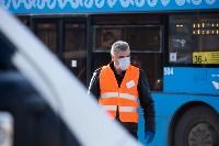 Как в Туле дезинфицируют маршрутки и автобусы, Фото: 4