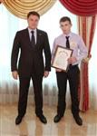Владимир Груздев встретился со школьниками Тульской области, Фото: 7