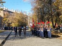 В Туле открыли памятник экипажу танка Т-34, Фото: 59