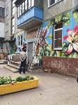 "Граффити ""Цветы"" на ул. Калинина, Фото: 10"
