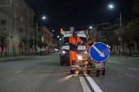 Нанесение дорожной разметки в Туле, Фото: 2
