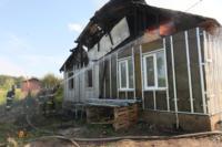 С огнем в жилом доме в селе Теплое боролись три пожарных расчета, Фото: 7