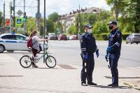 Полицейский рейд в тульских маршрутках: на пассажиров без масок составляют протоколы, Фото: 27