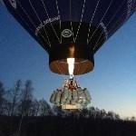 С аэродрома в Заокском районе Фёдор Конюхов начал полёт для установления мирового рекорда, Фото: 6