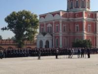19 сентября в Туле прошла церемония вручения знамени управлению МВД , Фото: 2
