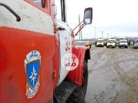 В страшном ДТП под Тулой погибли два человека, Фото: 17