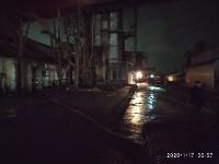 В Ясногорске загорелся склад для хранения зерна, Фото: 6