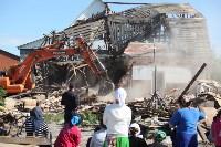 Демонтаж незаконных цыганских домов в Плеханово и Хрущево, Фото: 44