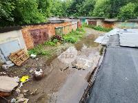 Потоп в гаражном кооперативе в Туле: Фоторепортаж , Фото: 1
