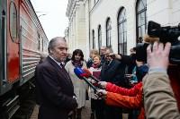 Встреча Валерия Гергиева на Московском вокзале в Туле, Фото: 17