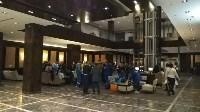 Детей, попавших в ДТП под Тулой, доставили в гостиницу, Фото: 8