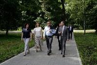 Алексей Дюмин осмотрел  Богородицкий дворец-музей и парк, Фото: 3