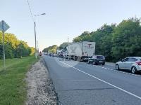В Тульской области фура влетела в автобус: перекрыта трасса М-2, Фото: 8
