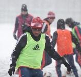 «Арсенал» готовится на снежном поле к игре против «Тосно», Фото: 4