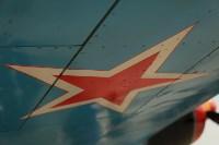 Установка копии Ла-5ФН на несущую опору мемориала «Защитникам неба Отечества» , Фото: 9
