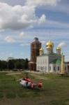 Установка шпиля на колокольню Тульского кремля, Фото: 23