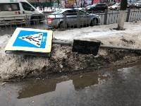 В центре Тулы сбили троих пешеходов, Фото: 4