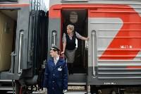 Встреча Валерия Гергиева на Московском вокзале в Туле, Фото: 4