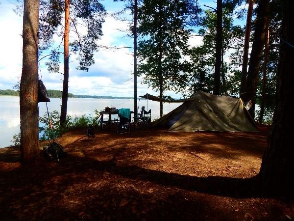 Где-то на озере Волго..