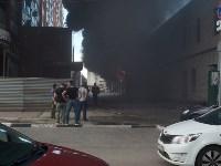 Загорелся недостроенный ТЦ на Красноармейском проспекте, Фото: 25