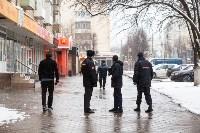 Полицейские проверяют, как туляки соблюдают ограничения карантина , Фото: 37
