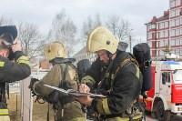 Тульские пожарные ликвидировали условное возгорание в здании суда, Фото: 3