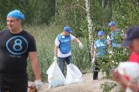 В Кондуках прошла акция «Вода России»: собрали более 500 мешков мусора, Фото: 53