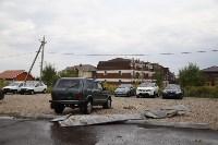 В Туле сорвало крышу делового центра, Фото: 2