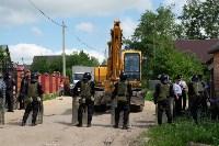 В Плеханово начали сносить дома в цыганском таборе, Фото: 124