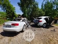 Цыганский конфликт в Туле: ночью подожжены четыре автомобиля, Фото: 8