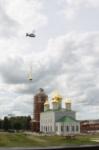 Установка шпиля на колокольню Тульского кремля, Фото: 36