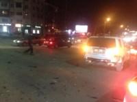 Аварии на перекрестке Красноармейского проспекта и ул. Фрунзе вечером 25 ноября, Фото: 7