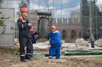 Снос электроподстанции в тульском кремле, Фото: 7