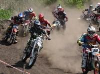 Юные мотоциклисты соревновались в мотокроссе в Новомосковске, Фото: 134