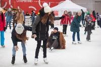 Как туляки отпраздновали Старый Новый год на музыкальном катке кластера «Октава», Фото: 10