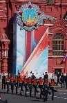 Тульская делегация побывала на генеральной репетиции парада Победы в Москве, Фото: 3
